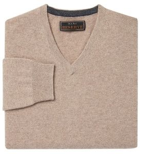 Jos. A. Bank Reserve Collection Cashmere V-Neck